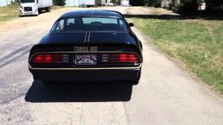 1978 Pontiac Trans Am Bandit 6.6 Classic