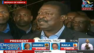Why Nasa chief agents stormed out of national tallying centre - VIDEO
