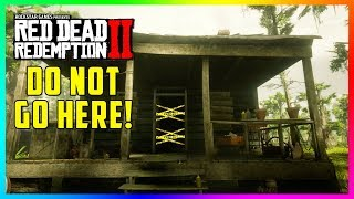 Arthur Gets....Uh Oh....DON'T Go To This House At The Swamp In Red Dead Redemption 2 Or Else!