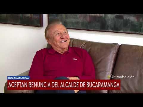 Aceptan renuncia de Rodolfo Hernandez a la Alcaldia de Bucaramanga