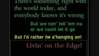 Aerosmith: Livin' on the Edge (Lyrics included)