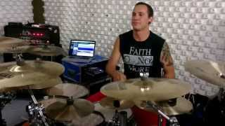 Kevin on Drums: Dreamshade Rehearsal Wide Awake