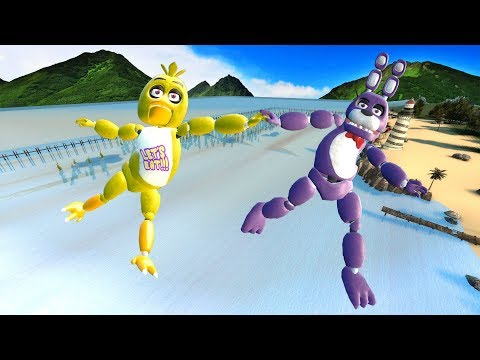 Garry's Mod not ordinary ragdolls [MOD:Animatronics Five Nights at