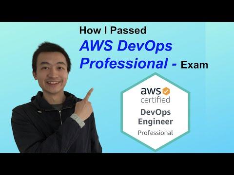 How I passed AWS DevOps Engineer - Professional Exam - AWS Ep ...