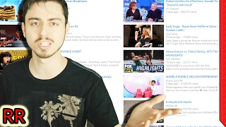 The YouTube Trending Page Roast