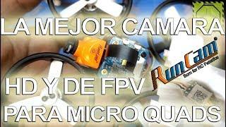 La única y mejor cámara HD y FPV para micro Quads Runcam Split Mini  DRONEPEDIA
