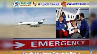 Select Air Ambulance in Ranchi with Advanced Medical Equipment