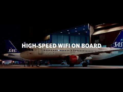 SAS Commercial: Travelers Stream Nonstop - High-Speed Wifi On Board
