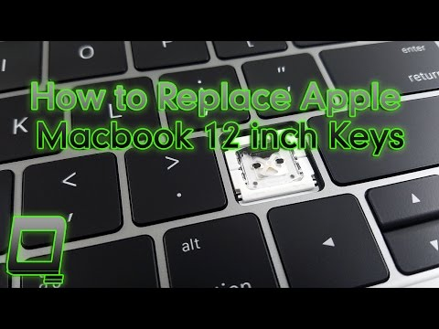 How to Replace Apple Macbook 12 inch Retina Keys (Butterfly Clips)