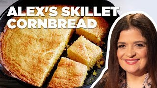 Alex Guarnaschelli Makes Cast Iron Skillet Cornbread | Food Network