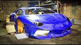 Replica Lamborghini / Часть 5. Поход в салон Ламборгини. Работа над донором