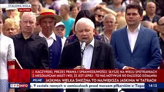 """Prezes: """"Są tacy, którzy chcą się wedrzeć do naszych rodzin…"""""""