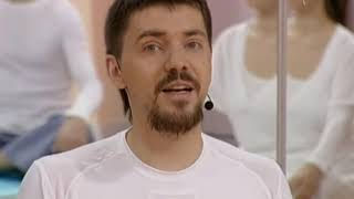 Смотреть онлайн Урок кундалини-йоги с  чакрами: Алексей Меркулов