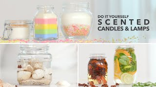 DIY MASON JAR CANDLES | Essential Oil Infused & With Soy Wax