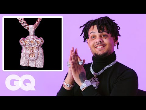 Smokepurpp Shows Off His Insane Jewelry Collection | GQ