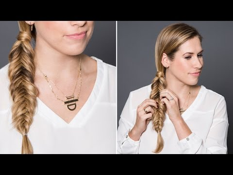 How To: Reverse Fishtail Braid