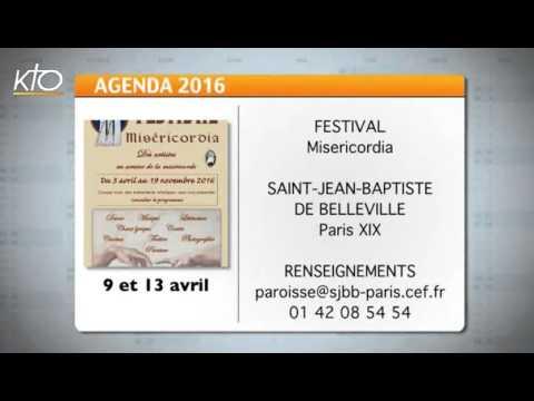 Agenda du 8 avril 2016