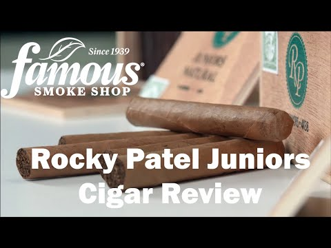 Rocky Patel Juniors video