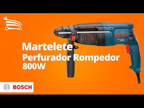 Martelete Perfurador Rompedor Profissional 800W  - Video