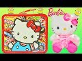 Hello Kitty Tin Box Toy Surprises with Rilakkuma Minions Barbie Paciocchini
