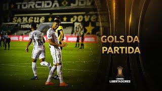 Gols do Peixe | Santos 4 x 1 Grêmio | Quartas de final | Libertadores 2020