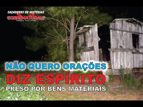 MEU DINHEIRO - ESPÍRITO PRESO NA CASA