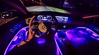 NIGHT DRIVE in S Class Video