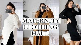 Winter Maternity Clothing Haul: BASICS & FAVES (Boohoo - Aerie -Shein)