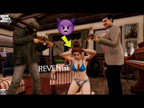 Video Gta 5 House Robbery😢 😱 W/mia, Mr Bean (gta 5 Real Life Mods
