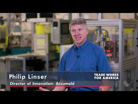 Vice President Pence visits Accumold in Iowa