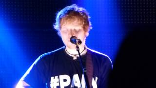 Ed Sheeran - Autumn Leaves (Zürich X-Tra 22.11.2012)