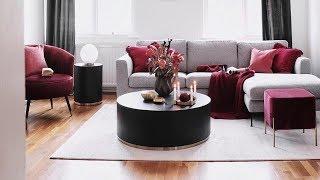 INTERIOR DESIGN / Gray Living Room Design Decor Ideas / Living Room 2019 / Home DECOR