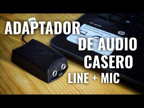 Adaptador de Audio para Micrófono y Auricular (Ideal para PC y Smartphones)