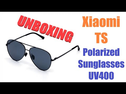 Sunglasses from Xiaomi - UNBOXING (by Banggood)