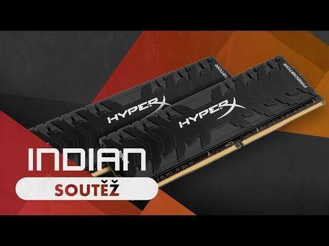 Soutěž o DDR4 RAM HyperX Predator 16GB 4266MHz