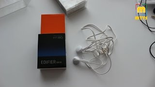 Edifier H180 & H185 Earbuds - Unboxing and Review