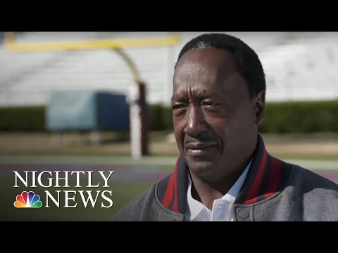 55-Year-Old Makes History As Oldest Player In Division I Football | NBC Nightly News
