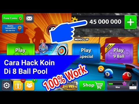 Video Cara Hack Coins 8 Ball Pool Gratis