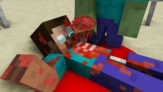Zombie Life - Herobrine Life - Minecraft Top 5 Life Animations