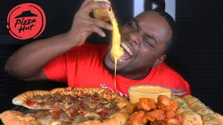 BEAST MODE DESTROYS CHEESY PIZZA | AMAZING REACTION