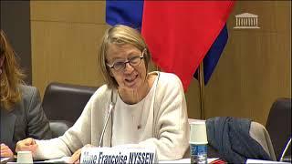 Audition de Françoise Nyssen, Ministre de la Culture, concernant la culture à l'échelle européen
