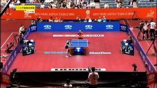 2014 WTTTC (WT-QF) ROMANIA vs SINGAPORE [HD] [Full Match/Chinese]