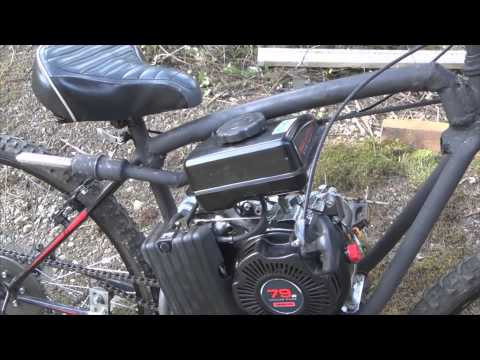 Finished project!! Homemade 79cc motorized bike build (part 7/7)