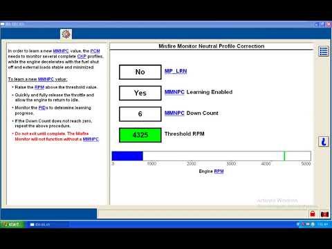 Ford IDS crank position relearn - смотреть онлайн на Hah Life