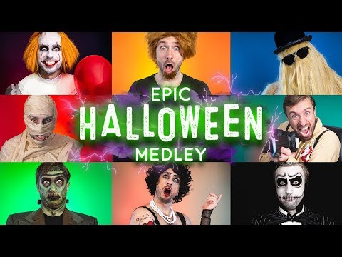 One-Man Halloween Medley