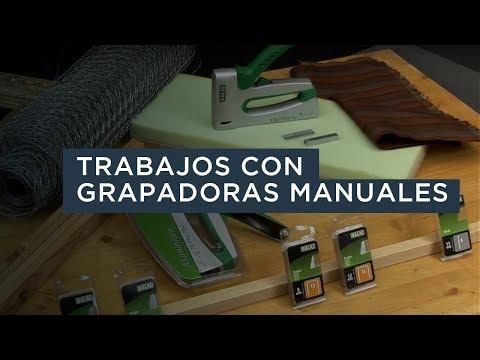 Trabajos con grapadoras manuales - Salki