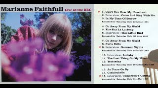 Marianne Faithfull -  A selection from BBC Sessions 1965-66