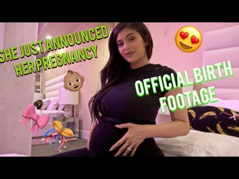KYLIE JENNER PREGNANCY ANNOUNCEMENT FOOTAGE REACTION/REVIEW