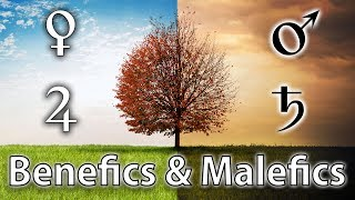 Benefic and Malefic Planets in Western Astrology