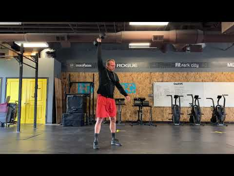 Dumbbell Hang Muscle Snatch
